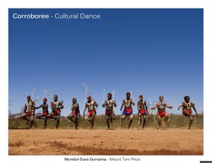 Corroboree, der Cultural Dance