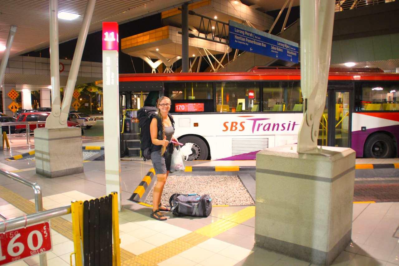 Reisebus ab Malaysia