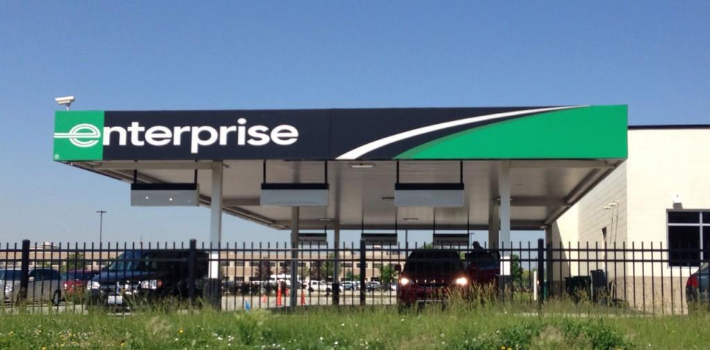 Enterprise rent-a-car gehört zu den großen Anbietern