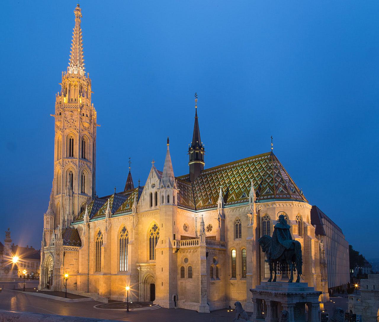 Die Matthiaskirche ist die bekannteste Kirche Budapests