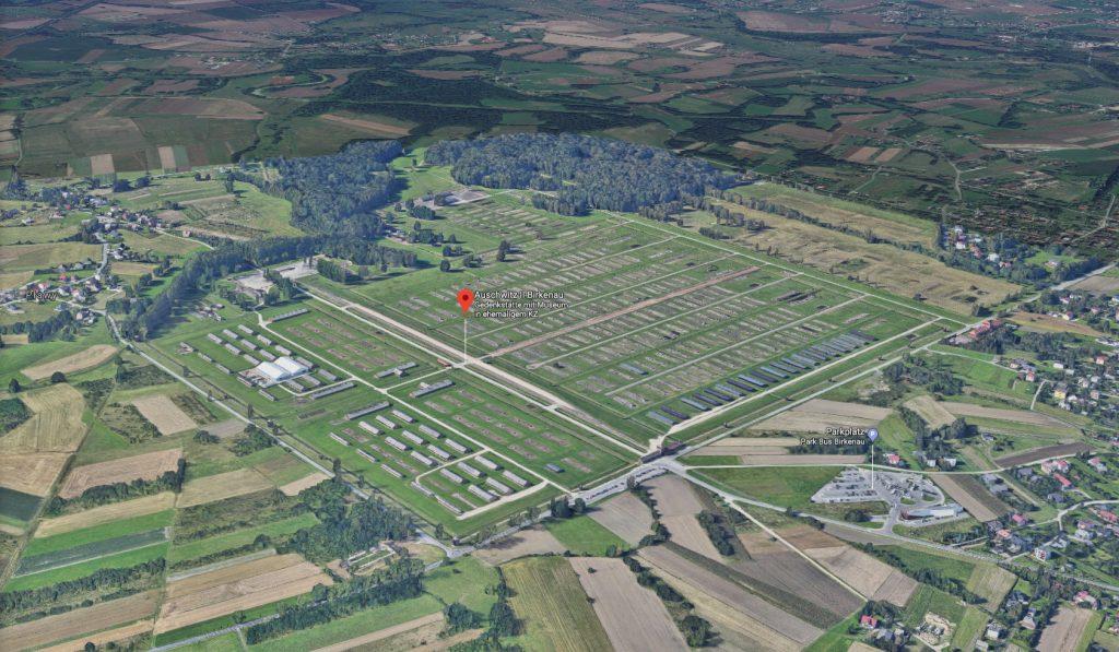 Auschwitz Karte.241 Auschwitz Birkenau Holocaust Gedenkstätte Wander Dude