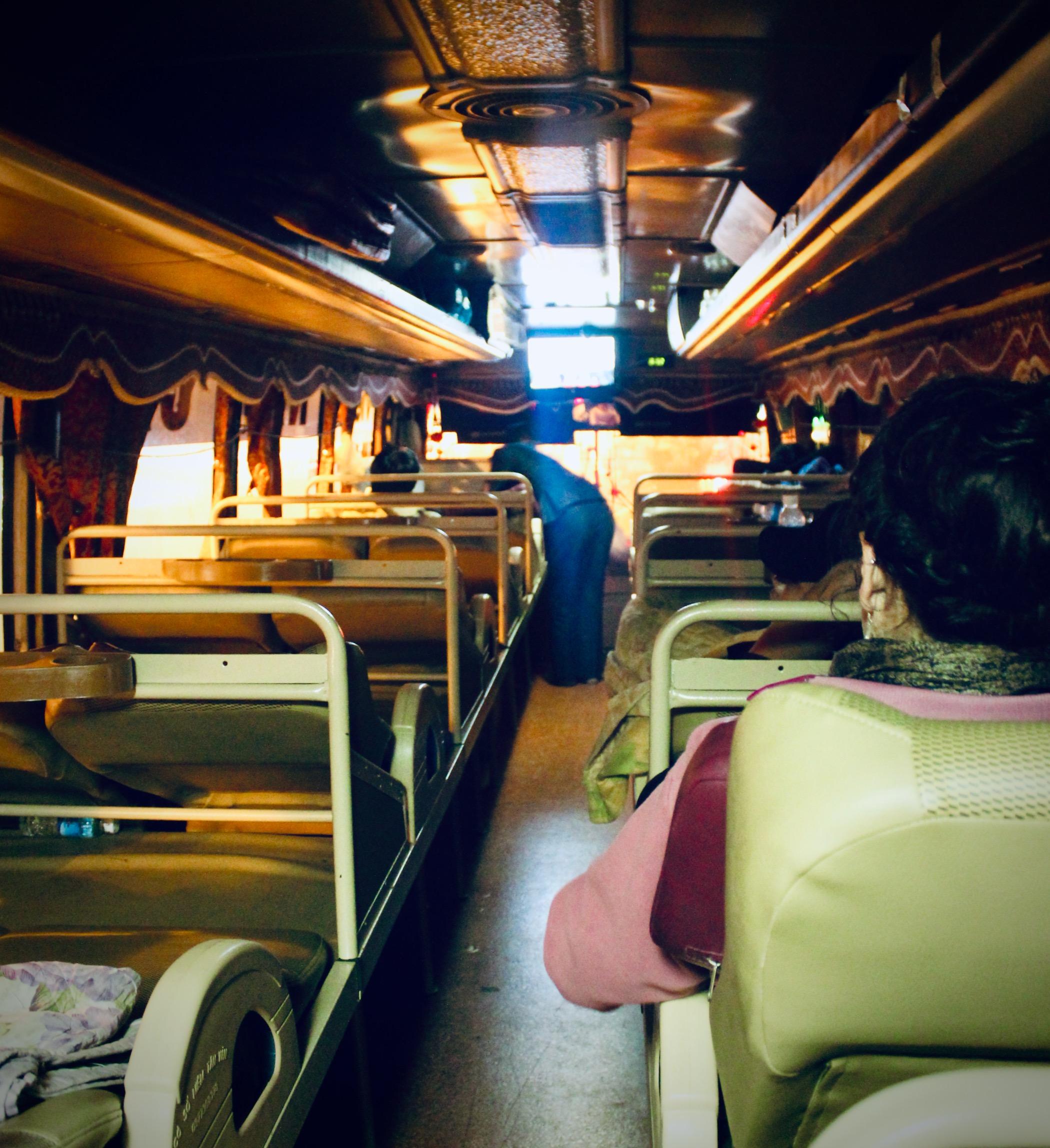 Nachtbus nach Sa Pa